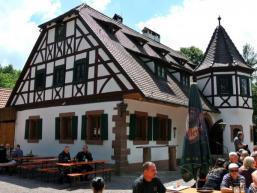 Bayrische Schanz: Ausflugslokal im Spessart