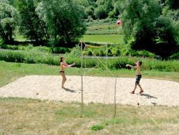Sommerlicher Spielspaß an der Fränkischen Saale