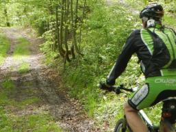 Mountainbiken im Spessart ist grandios