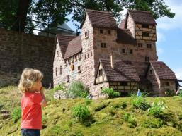 So soll die Burg Bartenstein einmal ausgesehen haben