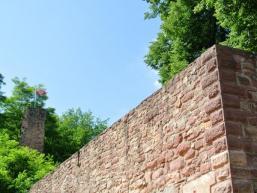 Befestigungsmauern der Burg