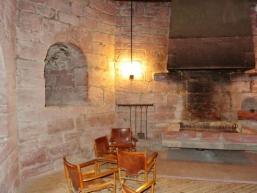 Im Dicken Turm der Burg Rieneck