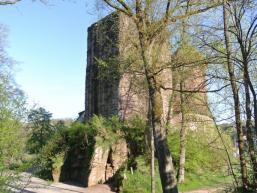 Wanderroute über die Burg Rieneck