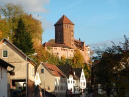 Herrschaftssitz der grafen von Rieneck