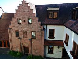 Innenhof der Burg Rieneck