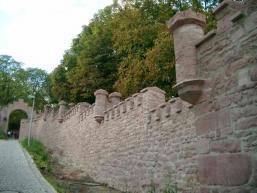 Burgmauer am Schlossberg