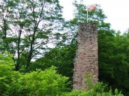 Reste der Burganlage Bartenstein