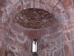Romanische Kapelle in Kleeblattform