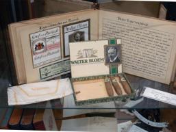 Produkte der alten Tabakmanufaktur in Rieneck