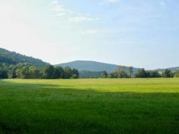Wiesenlandschaft im Sinngrund bei Schaippach