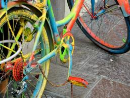 Fahrrad Impressionistisch