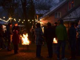 Am ersten Adventssonntag in der Dorfgemeinschaft