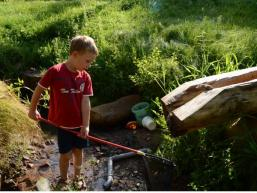 Wasserrutsche am Wassererlebnishaus Rieneck