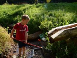 Wasser erkunden im Fließenbachtal
