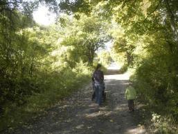 Wanderweg Richtung Sodenberg