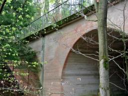 Brückenbauwerk der Reichsautobahn Strecke 46