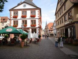 Marktplatz in Lohr/Main