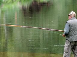 Angeln an den Flüssen im Spessart