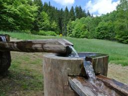Kaskaden am Wassererlebnishaus Rieneck