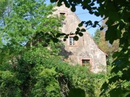 Fast von der Natur zurück geholt - Wasserschloss Burgsinn