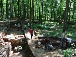 Ausgrabung Kloster Elisabethenzell