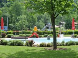 Kinderbecken, Nichtschwimmer und großes Schwimmerbecken