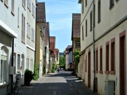 Nebenstraßen in Karlstadt