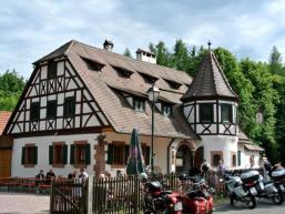 Biergarten und Speisegaststätte