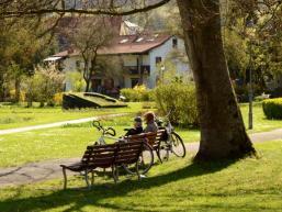 Schlossparkrast in Burgsinn am Wasserschloss