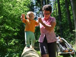 Familienurlaub: Balancieren nicht nur für die ganz Kleinen