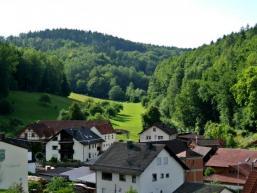 Wohnrod: Blick ins Wandertal