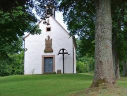 Ansicht Kapelle vom Kreuzweg