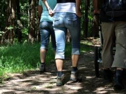 Wandern in der Gruppe