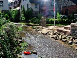 Wassererlebnis in der Dorfmitte