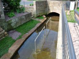 Wasserttretanlage in Fellen / Spessart