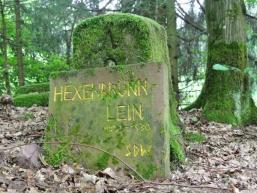 Inschrift am Hexenbrünnlein
