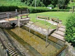 Wassertretanlage nach Sebastian Kneipp