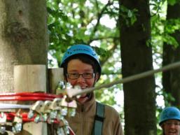 Von Baum zu Baum im Spessartwald