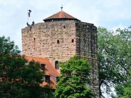 Wehrturm der Burg Rieneck