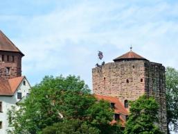 Abseilen vom Dicken Turm