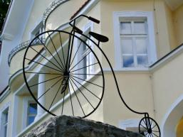 Eingangsportal zum Fahrradmuseum