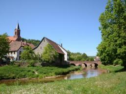 Wanderziel Gräfendorf im Saaletal