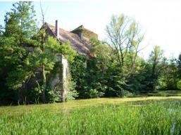 Burgsinner Wasserschloss mit Parkanlage