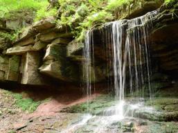 Tretstein Wasserfall bei Gräfendorf
