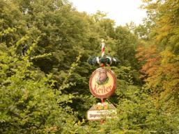 Durscht löschen im Biergarten Bayrische Schanz