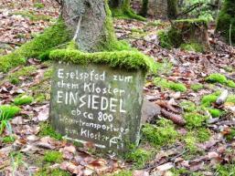 Der Eselspfad führte vor Jahrhunderten zum Kloster Elisabethenzell