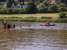 Ferienprogramm Rieneck Floßbau für Piraten