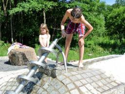 Kinder haben ihren Spaß