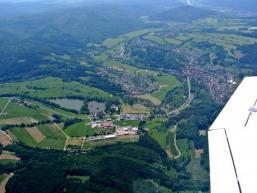 Der Sinngrund bei Rieneck mit Blick Richtung Maintal