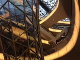Ausgefallene Architektur im MyZeil Center